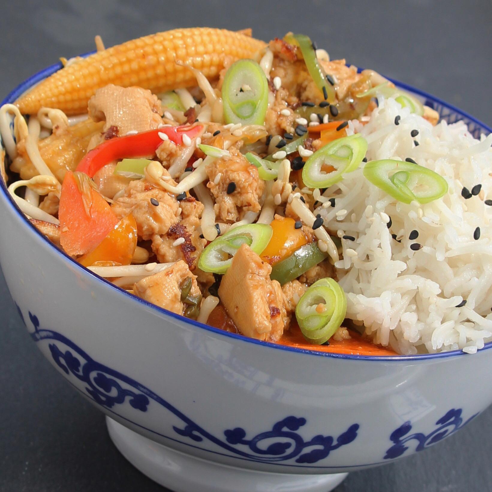 Quick Tofu Stir-Fry