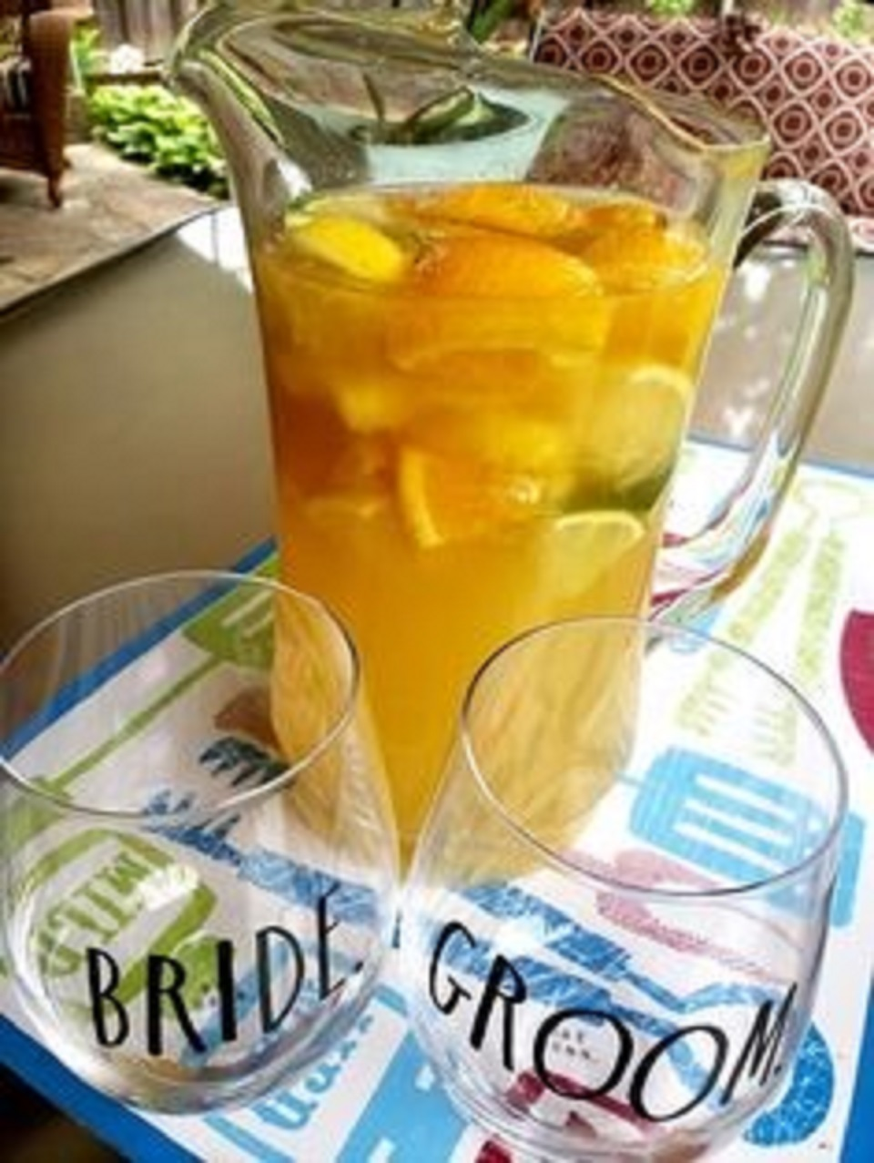 Pineapple Sangria Sheila LaLonde