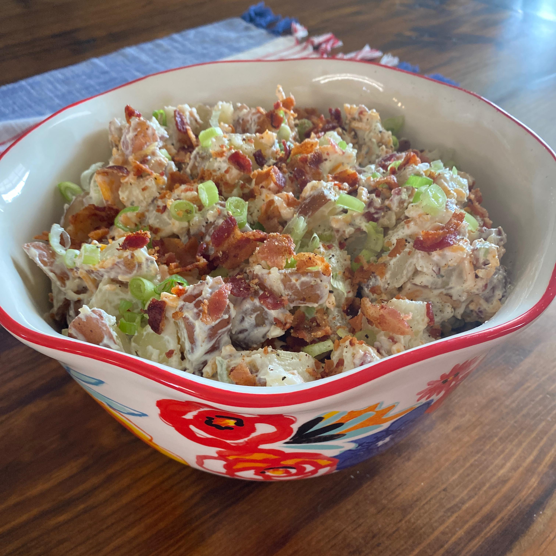 All-American Loaded Baked Potato Salad
