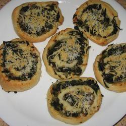 Spinach and Mushroom Pinwheels Mary Ann Manton