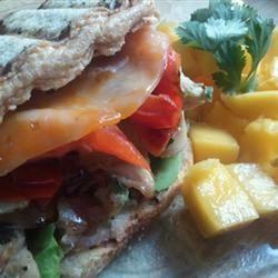 Amazing Southwest Cilantro Lime Mango Grilled Chicken Sandwiches MariaTheSoaper