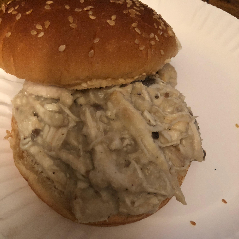 Hot Shredded Chicken Sandwiches James Rosell