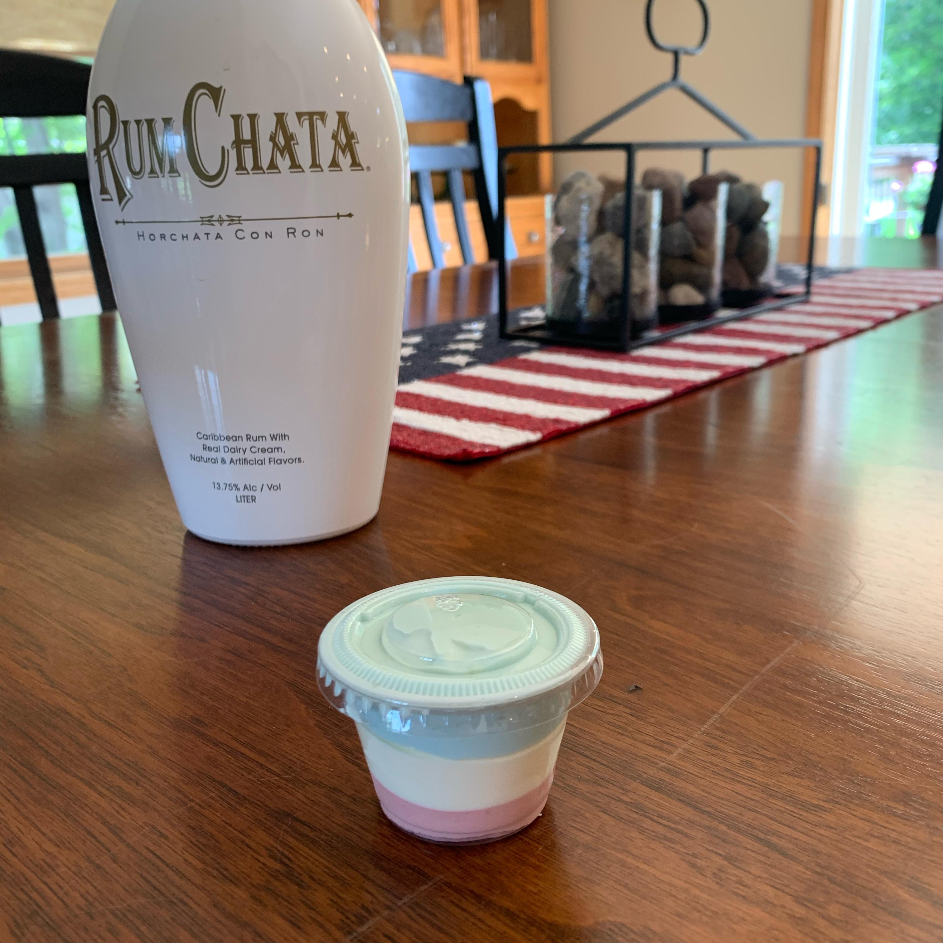 RumChata® Pudding Shots Christy Vierzba