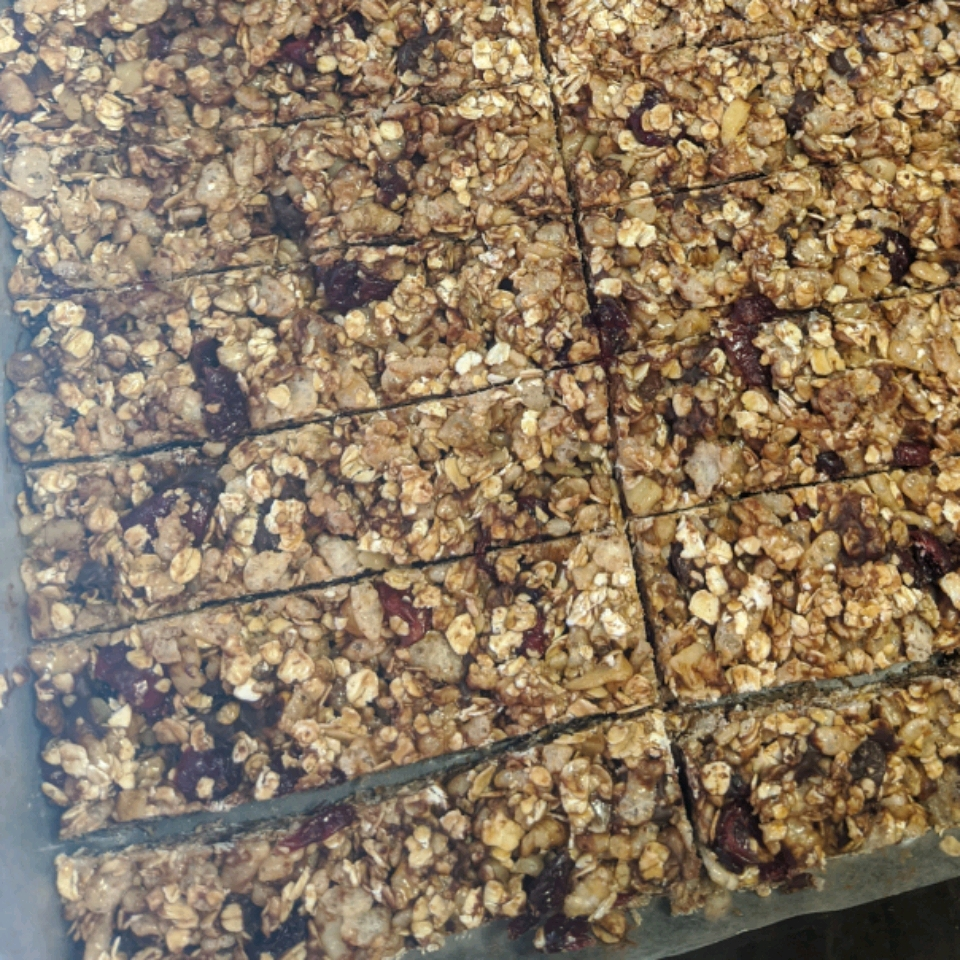 Chewy No Bake Granola Bars smart cookie
