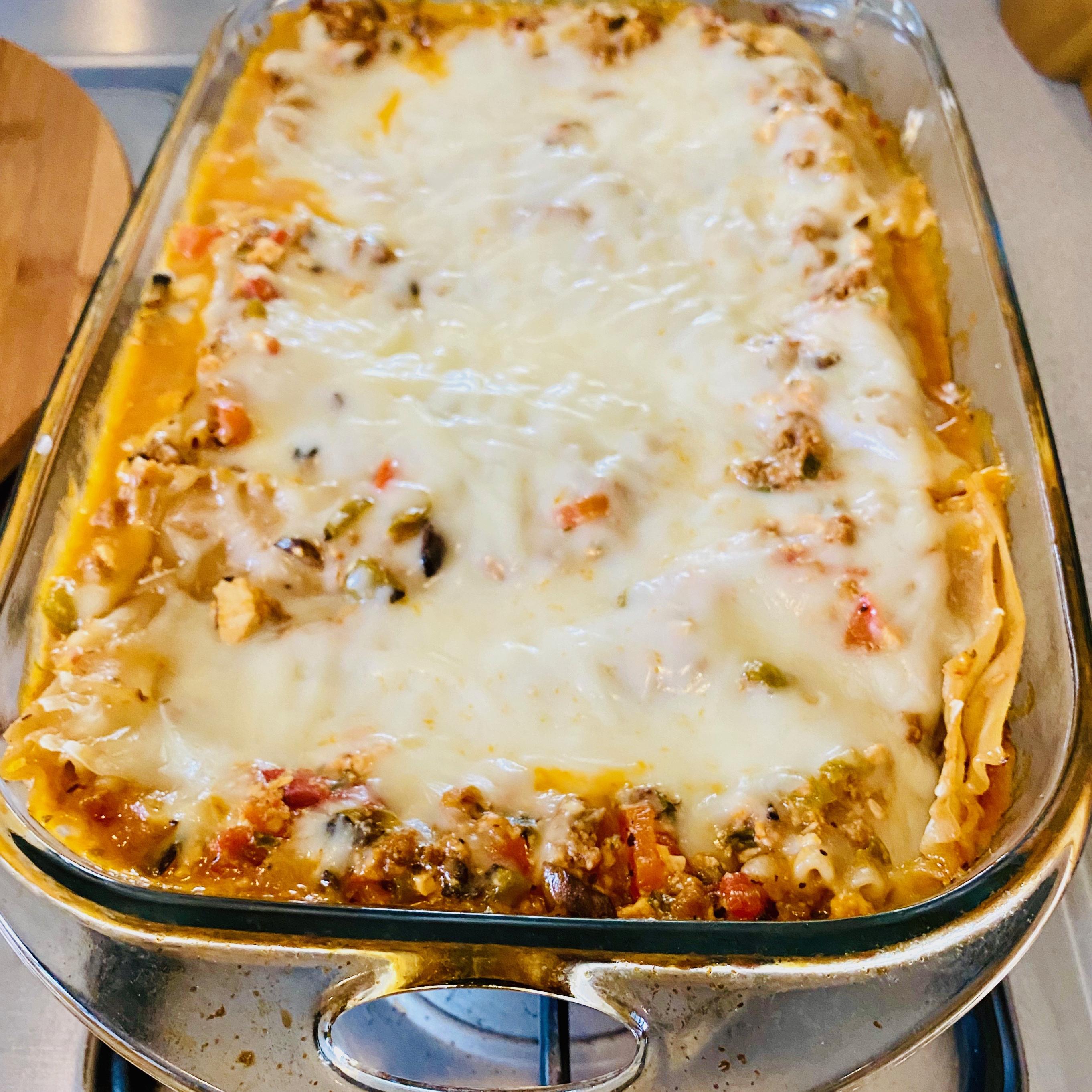 Michelle's Vegan Lasagna