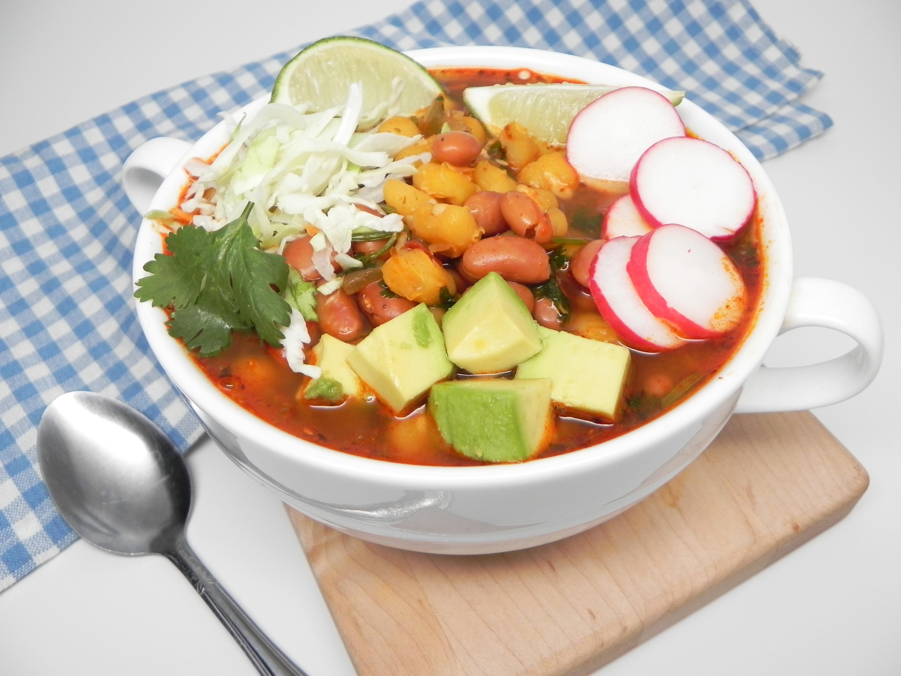 Instant Pot® Vegetarian Pozole