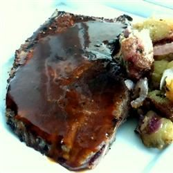 Minute Steaks with Barbeque Butter Sauce LatinaCook