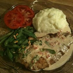 Basil Cream Chicken Connie Osment Dalton