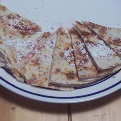 Strawberry Cheesecake Quesadillas pomplemousse