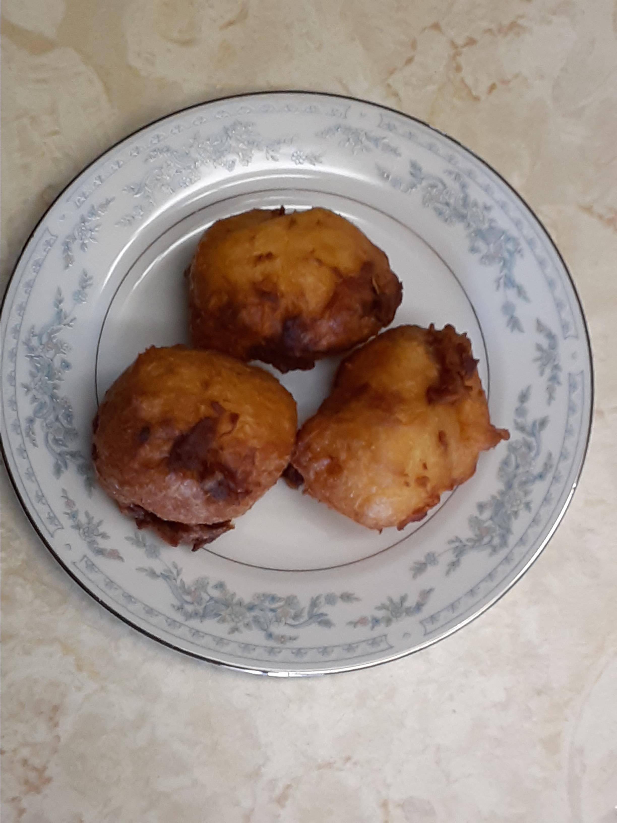Bacon and Egg Doughnuts veronica b