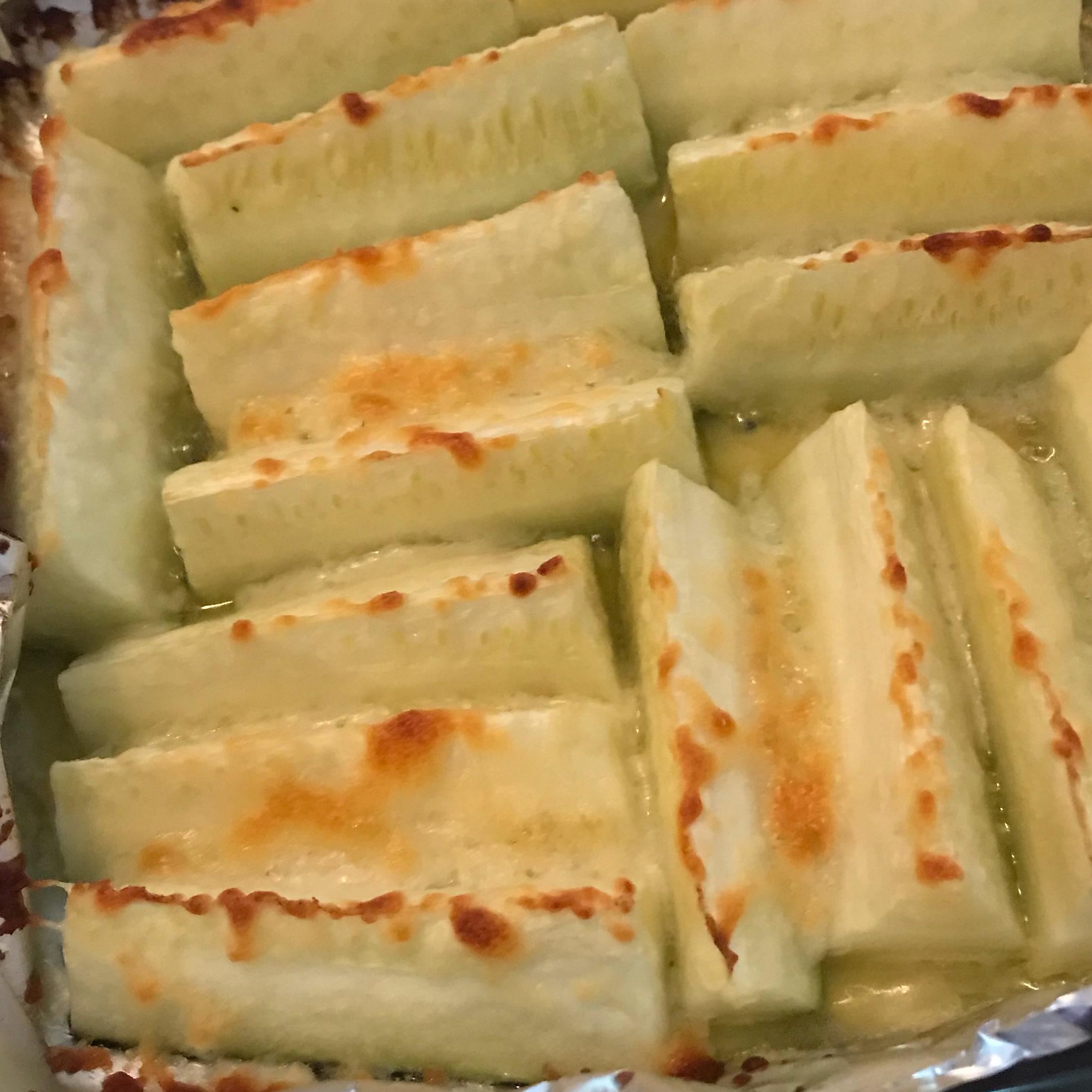 Grilled Parmesan Zucchini