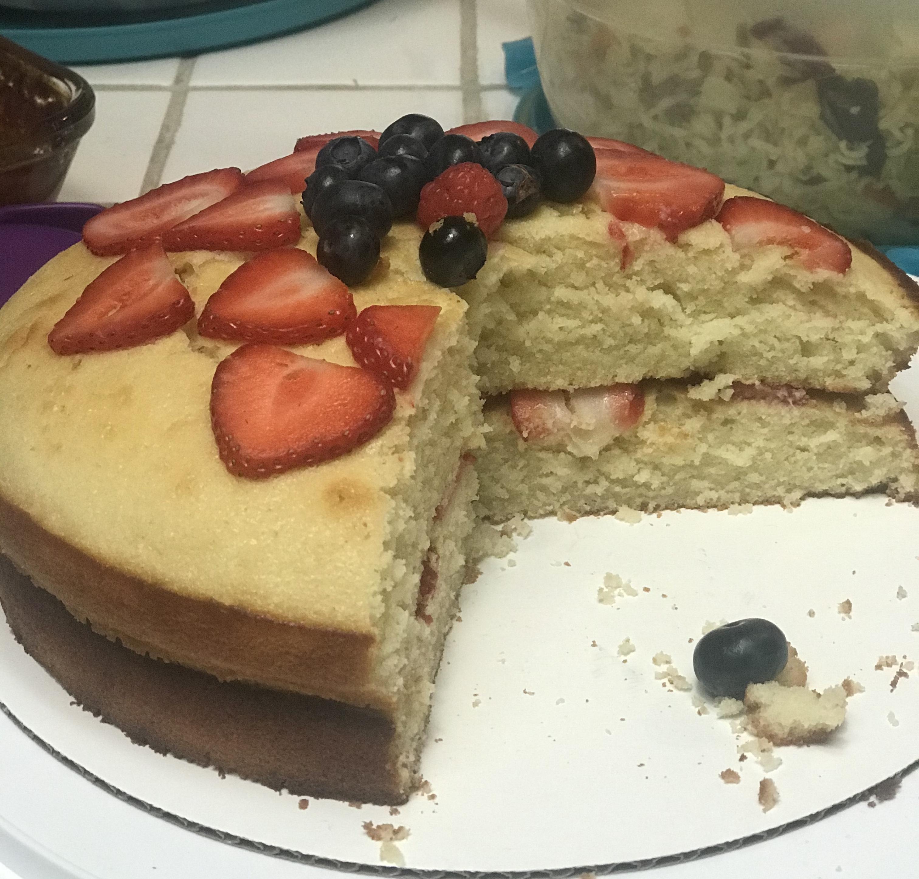 Victoria Sponge Cake Taryn