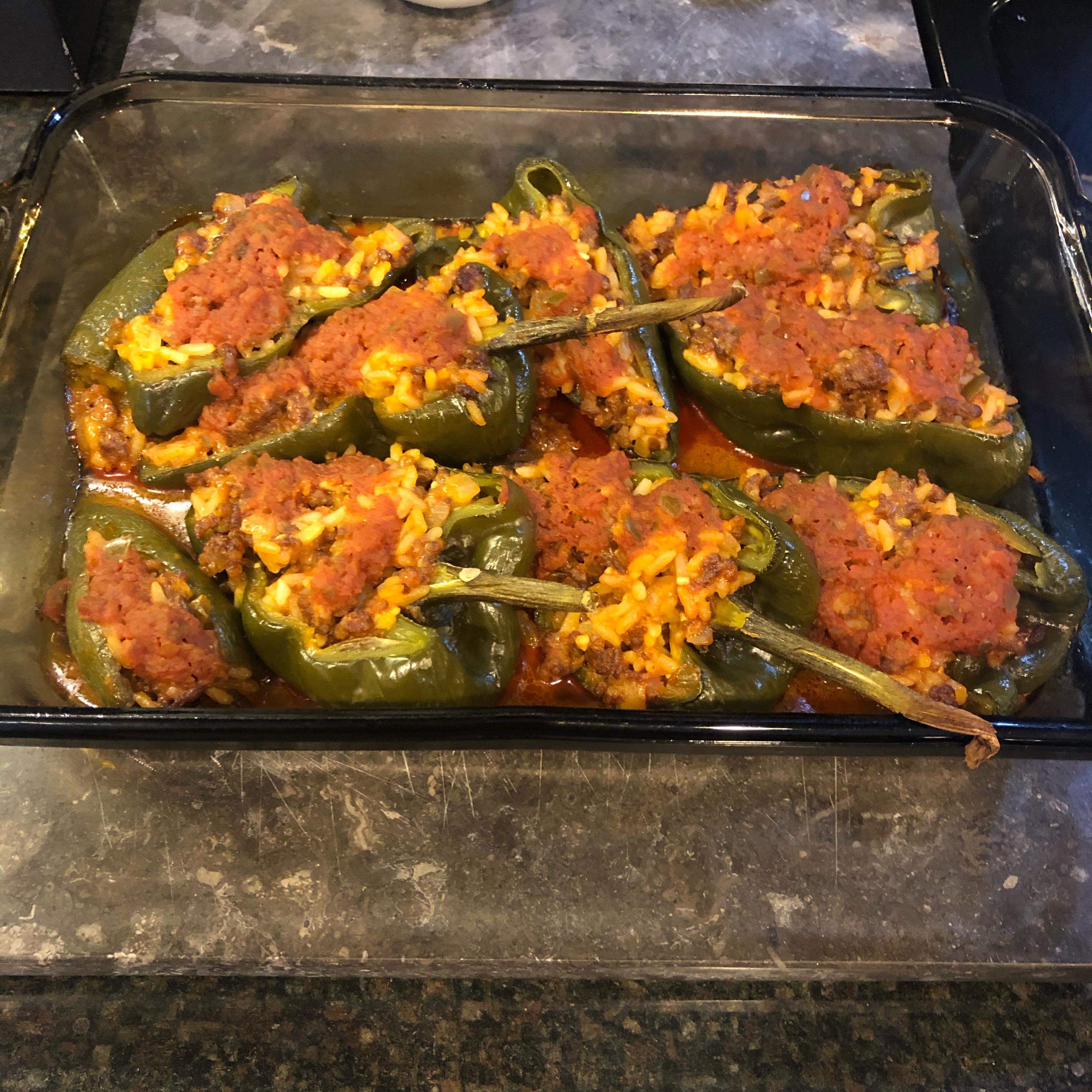 Chorizo Stuffed Poblano Peppers jennifer