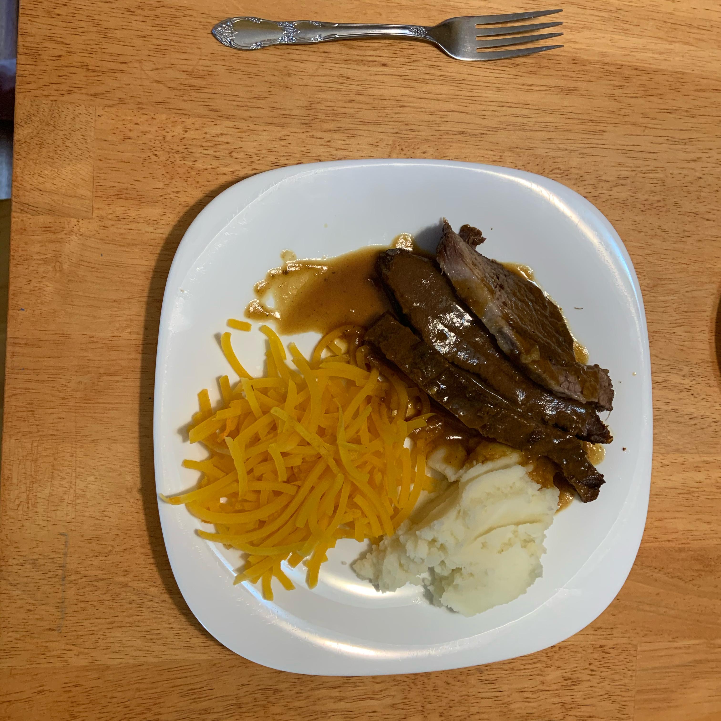 Easy Baked Beef Brisket Sean K