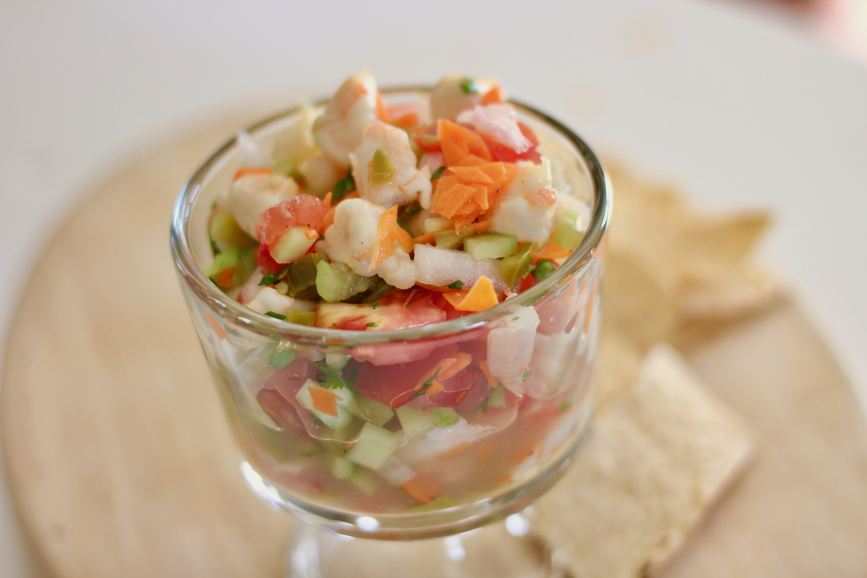 Shrimp Ceviche Baja Style