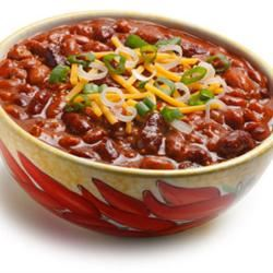 Slow-Cooked Chili custer