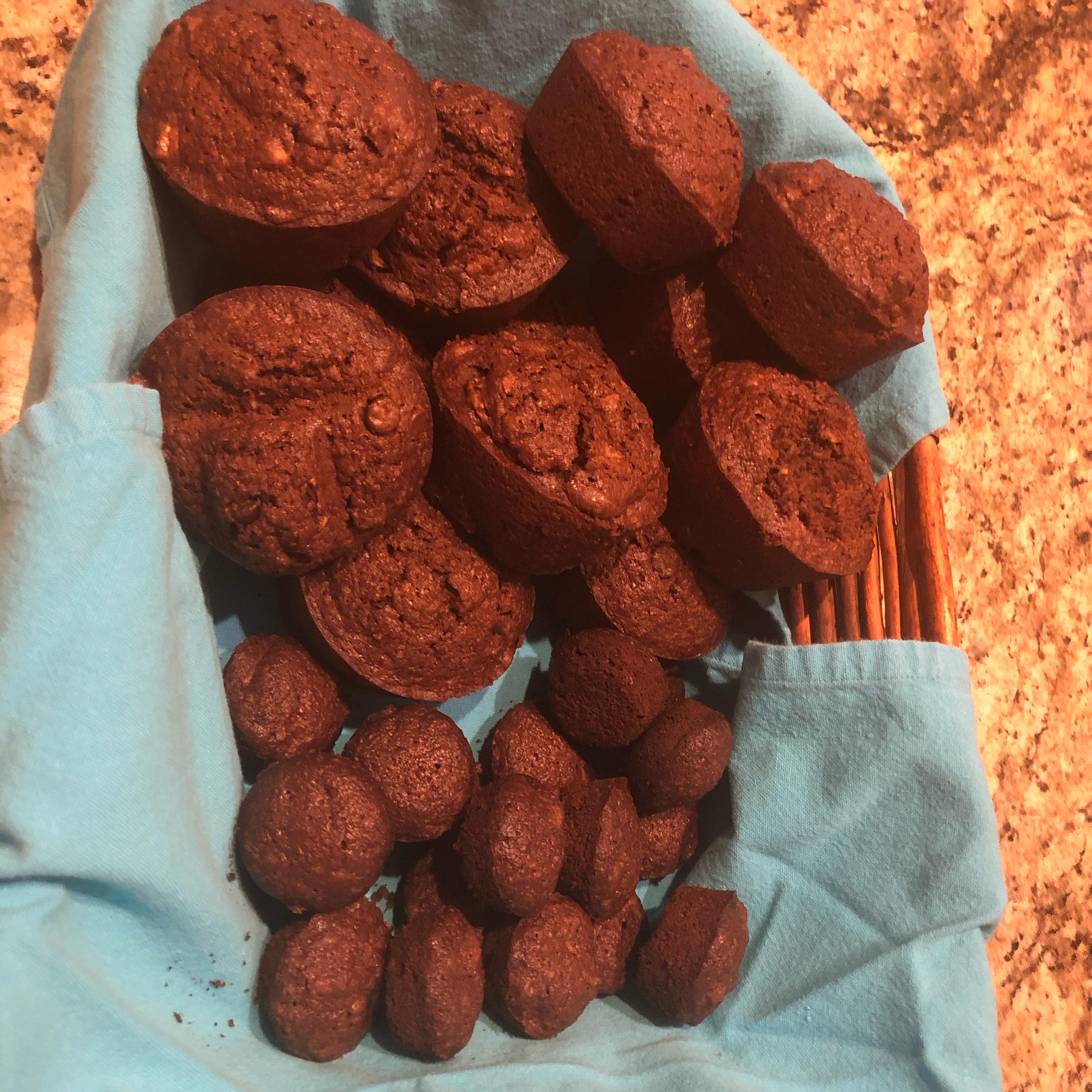 Chocolate Zucchini Bread II Tina