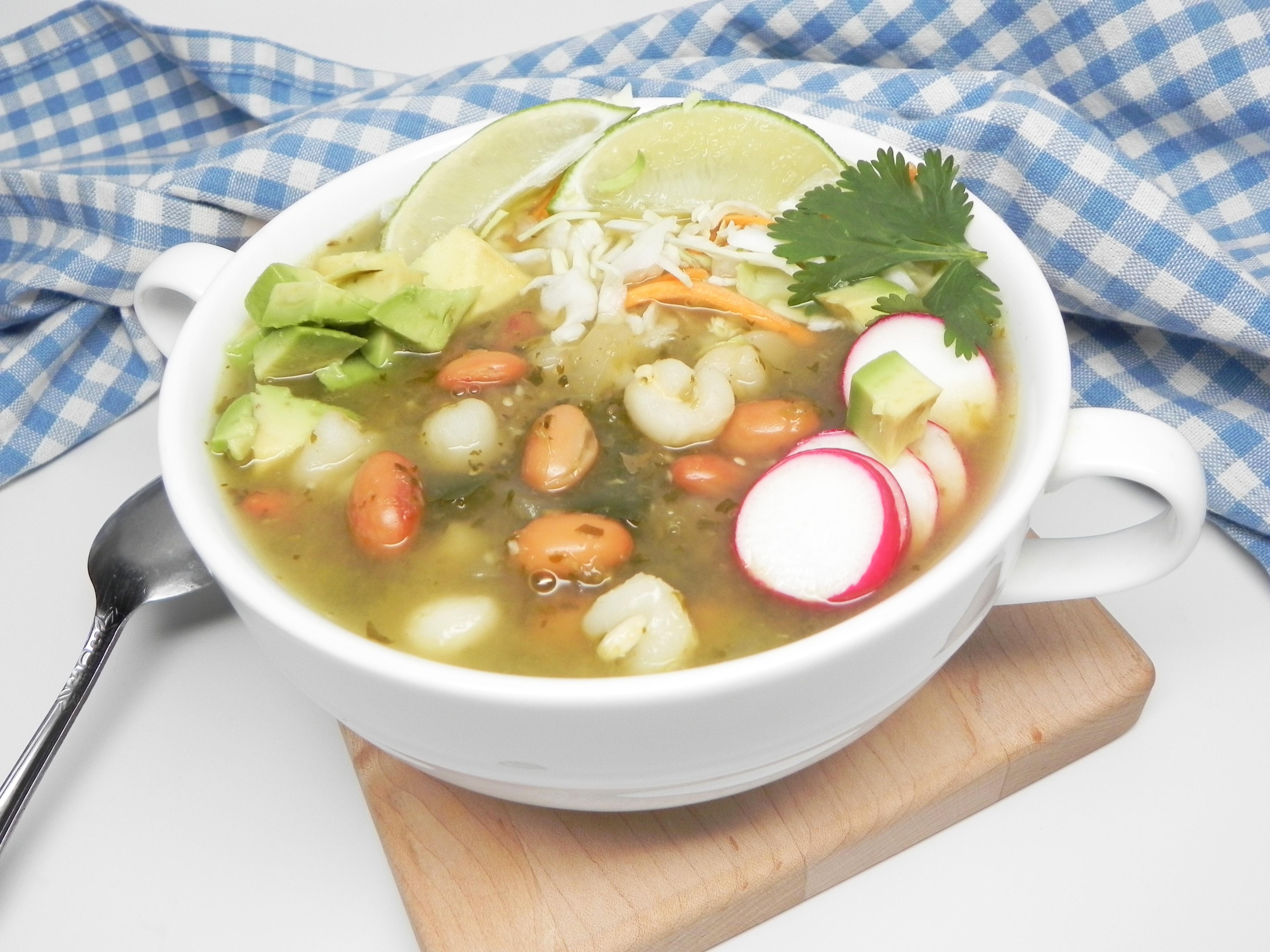 Instant Pot® Vegetarian Pozole Verde Soup Loving Nicole