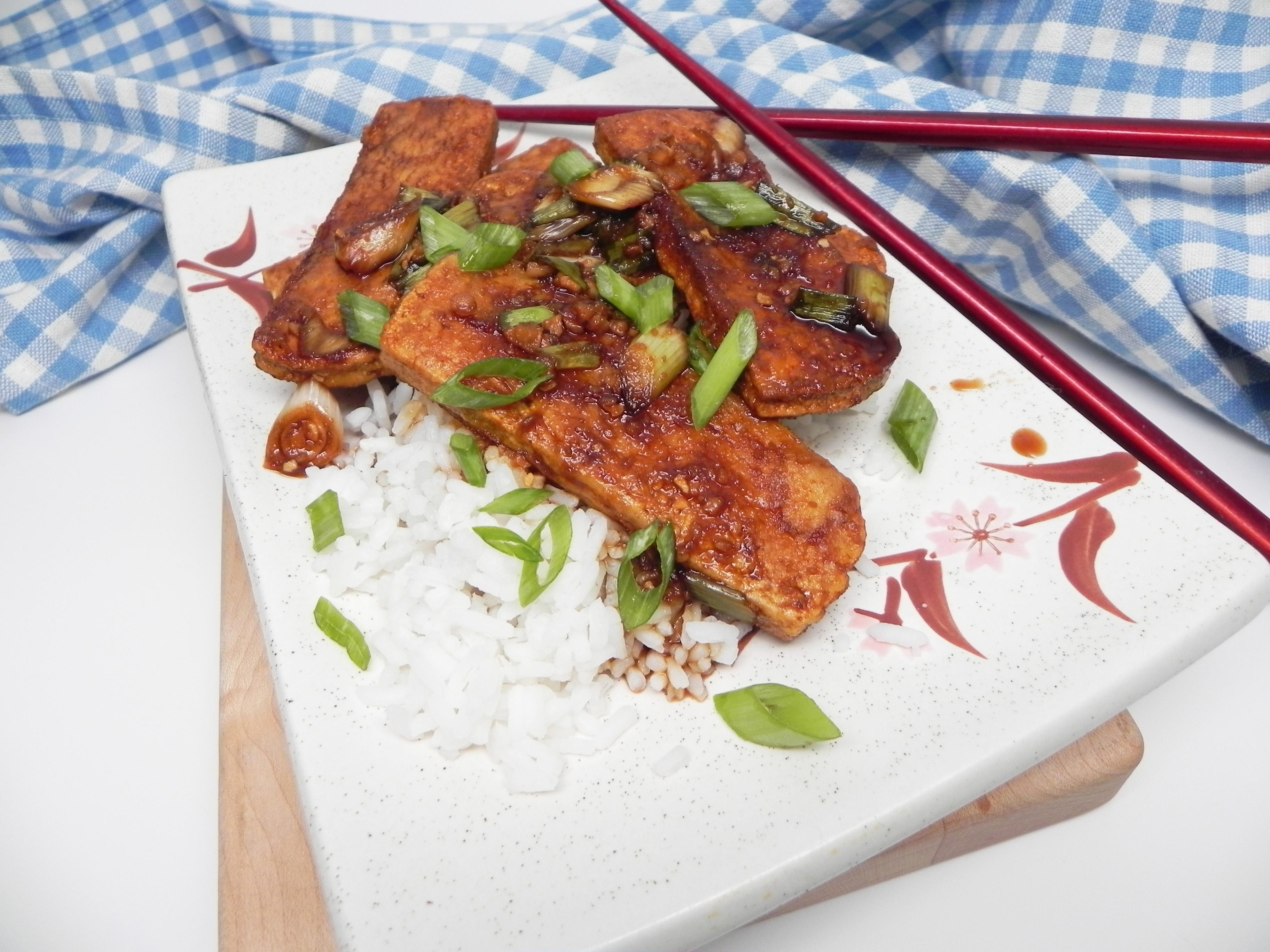 Crispy Teriyaki Tofu