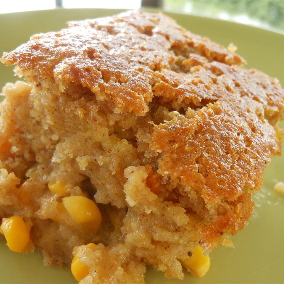 Snacks' Crazy Sweet Corn Pudding