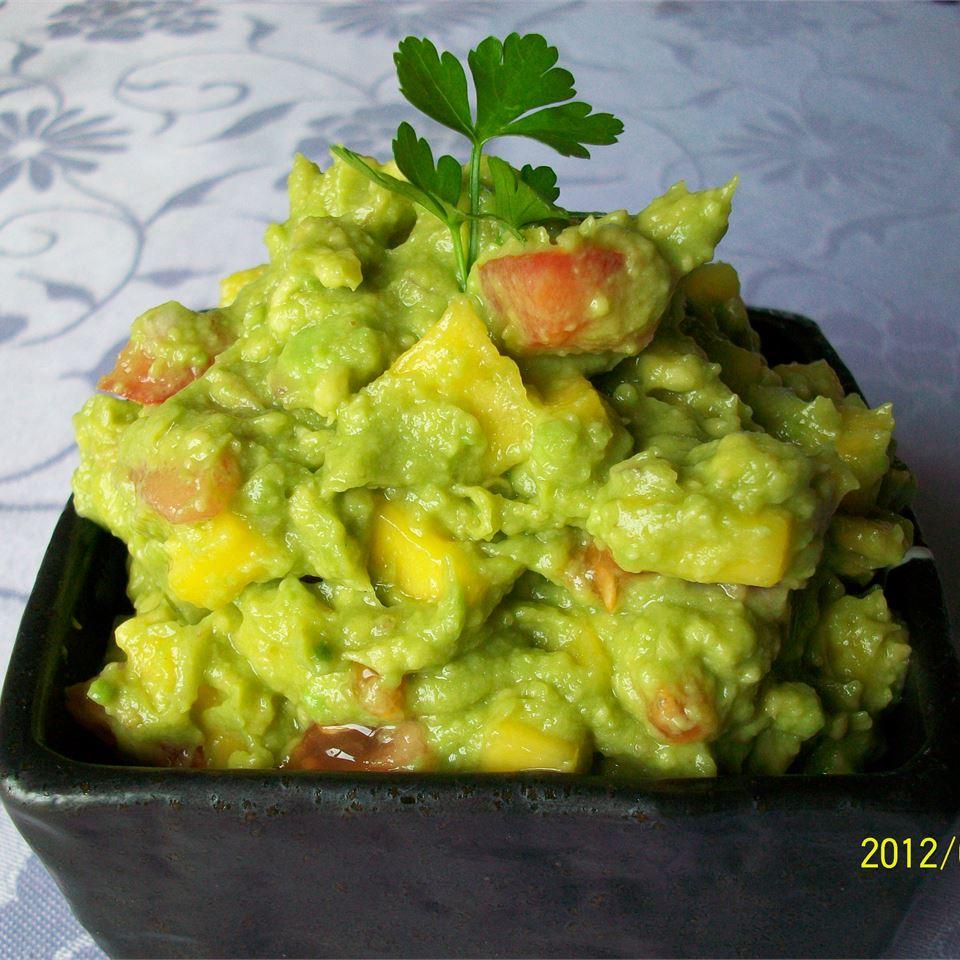 Savory Mango Guacamole