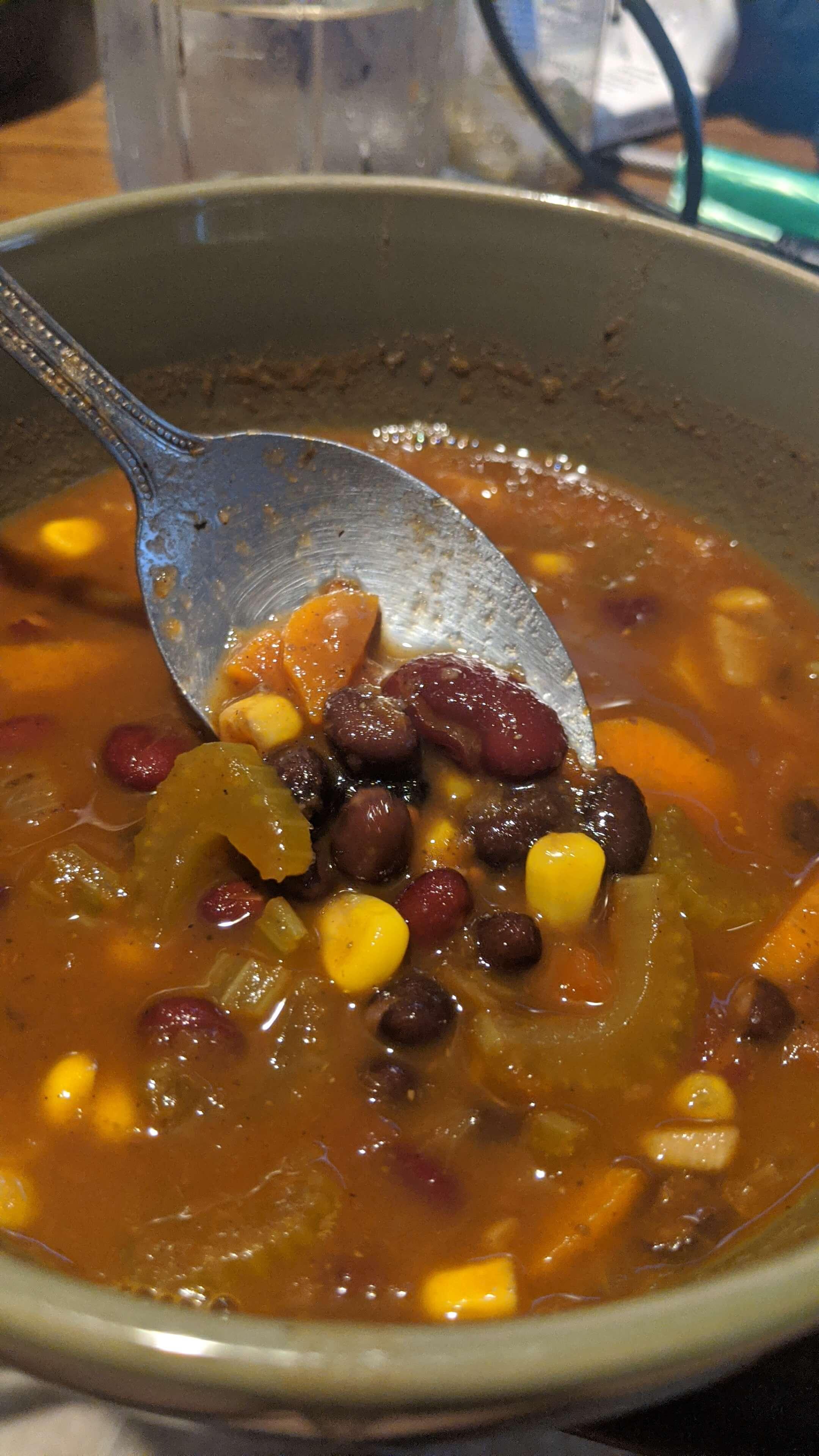 Heddy's Black and Red Bean Soup Kiki Yasmilet