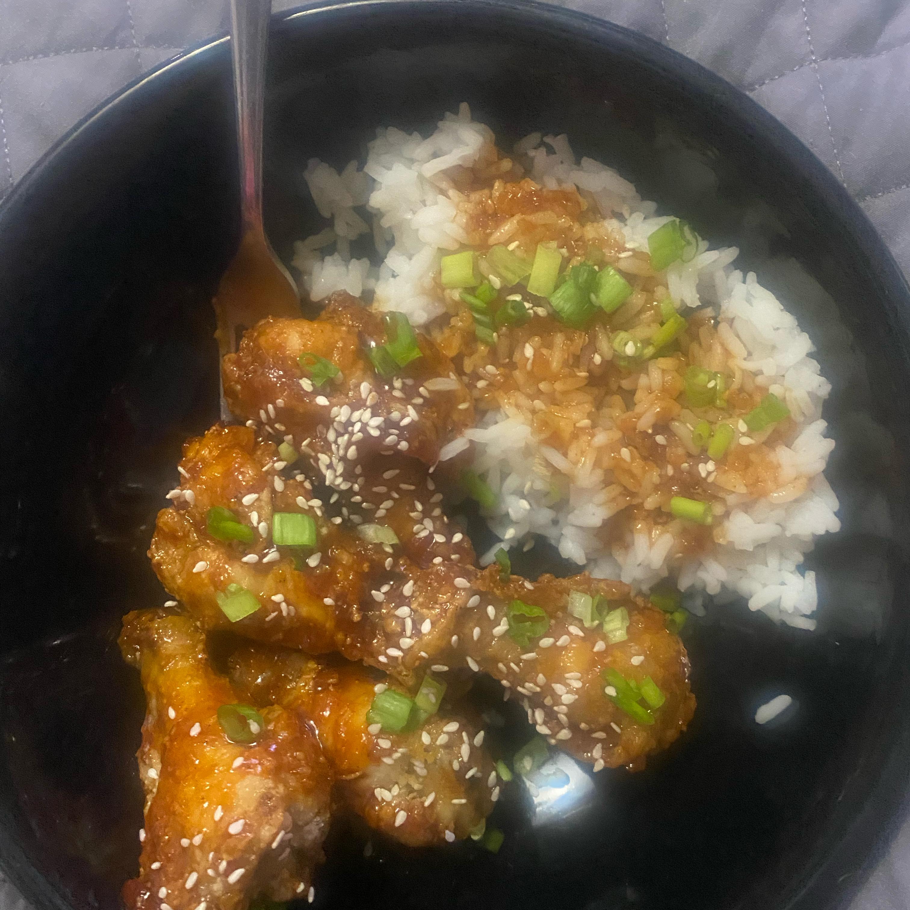 Air-Fried Korean Chicken Wings Susan0580