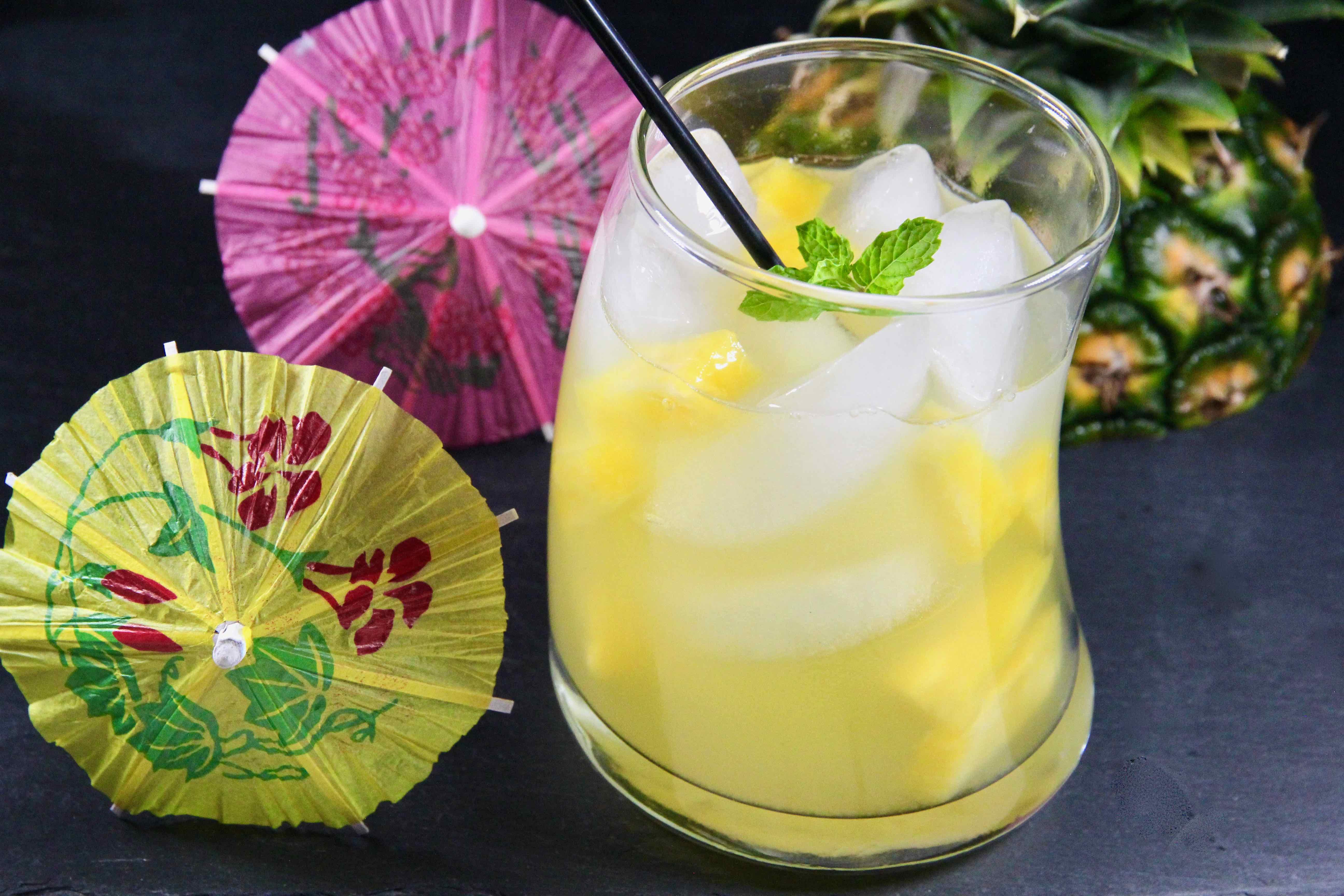 Pineapple White Wine Cocktail
