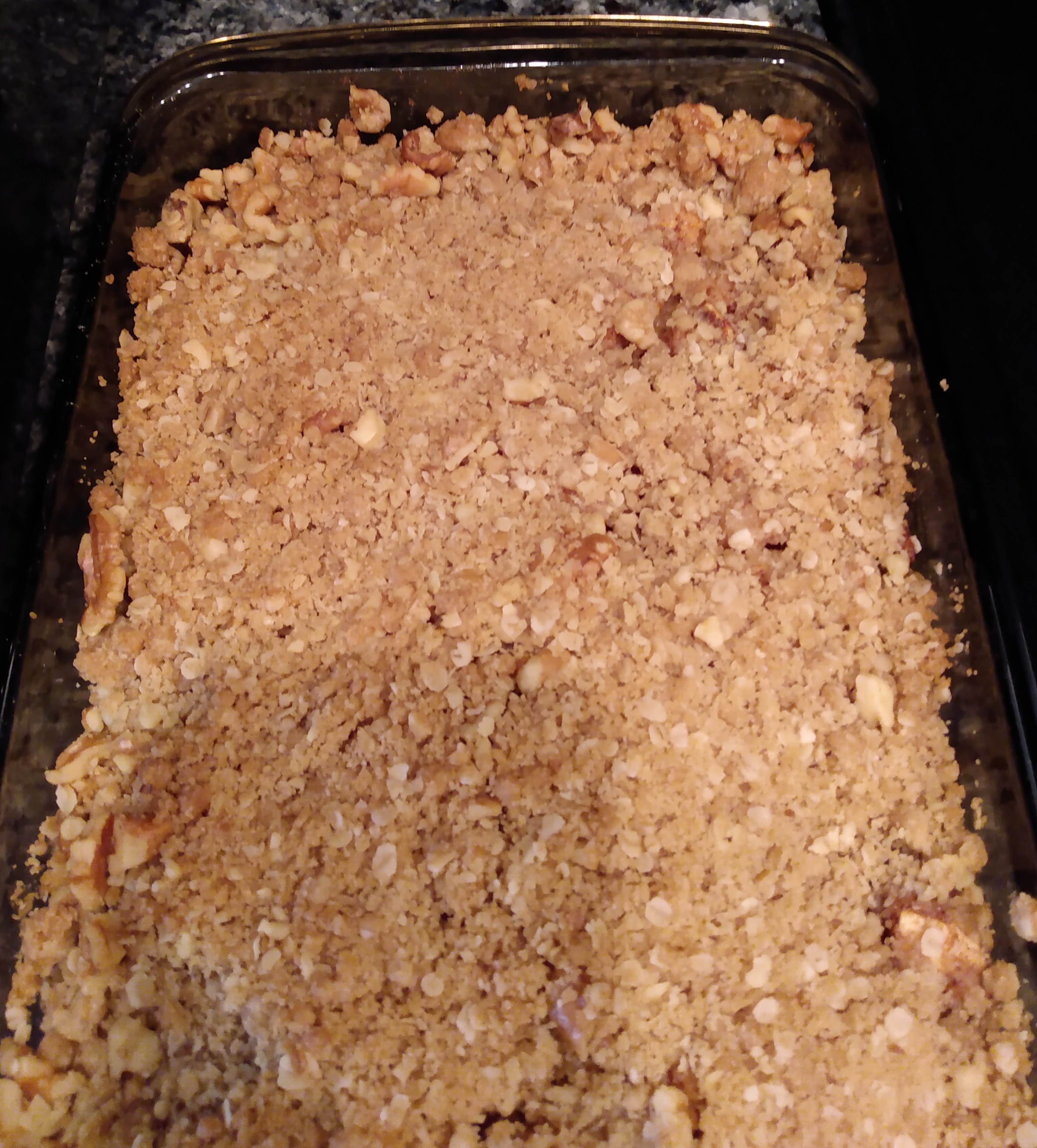 Apple Oatmeal Crisp Sharon Thompson