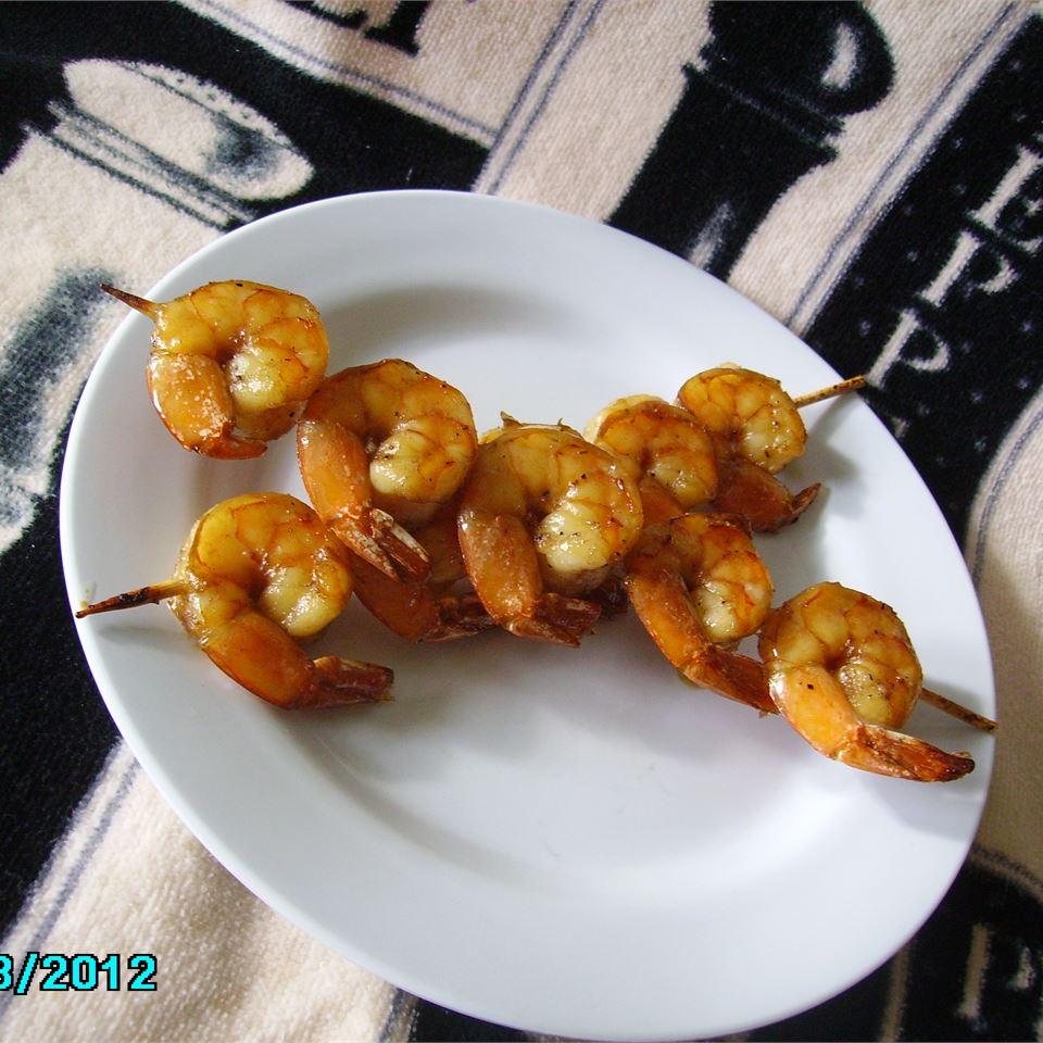 Honey Grilled Shrimp Christina