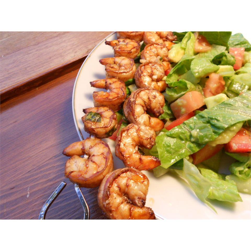 Garlic Balsamic Shrimp kellieann