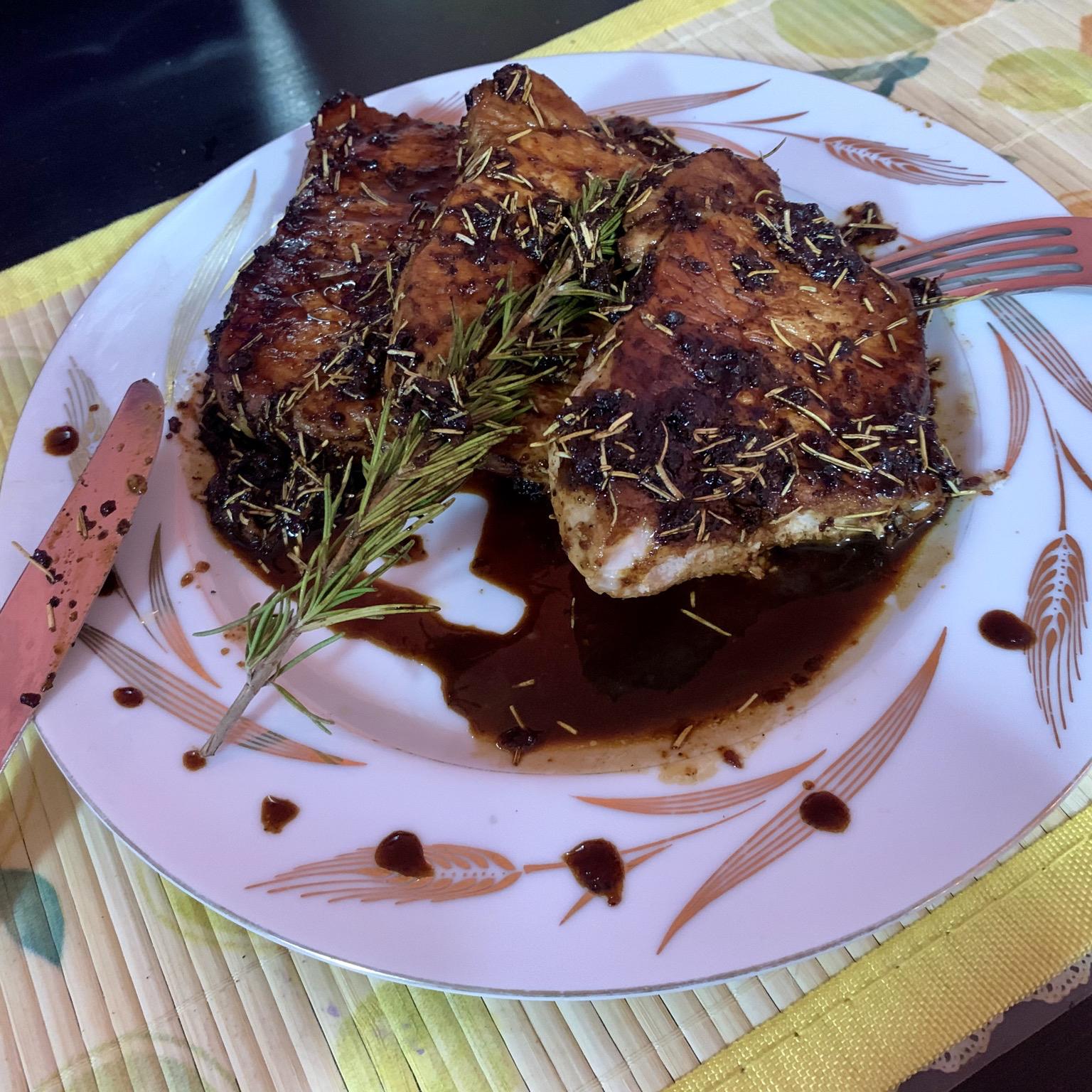 Modenese Pork Chops Katty Liu