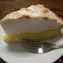 High Altitude Meringue for Pie