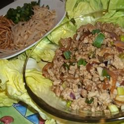 Asian Lettuce Wraps Alida Rovetto