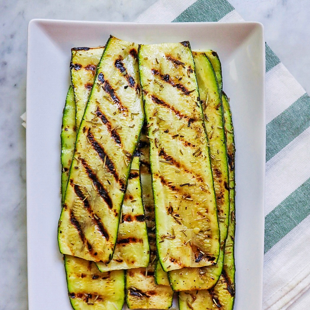 Pan-Grilled Zucchini