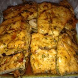 Sweet and Tangy Glazed Salmon Sarah Silva