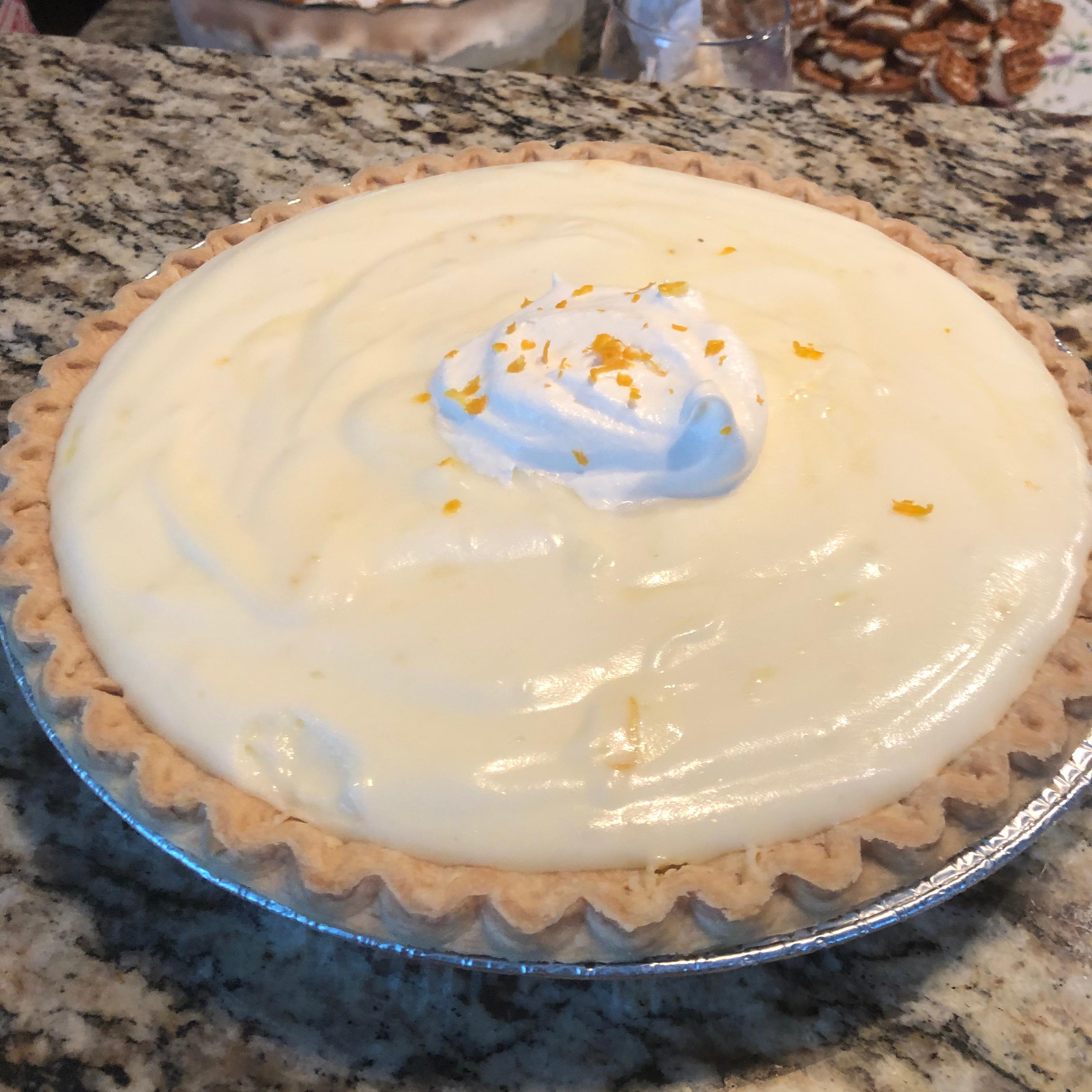 Lemon Cloud Pie I
