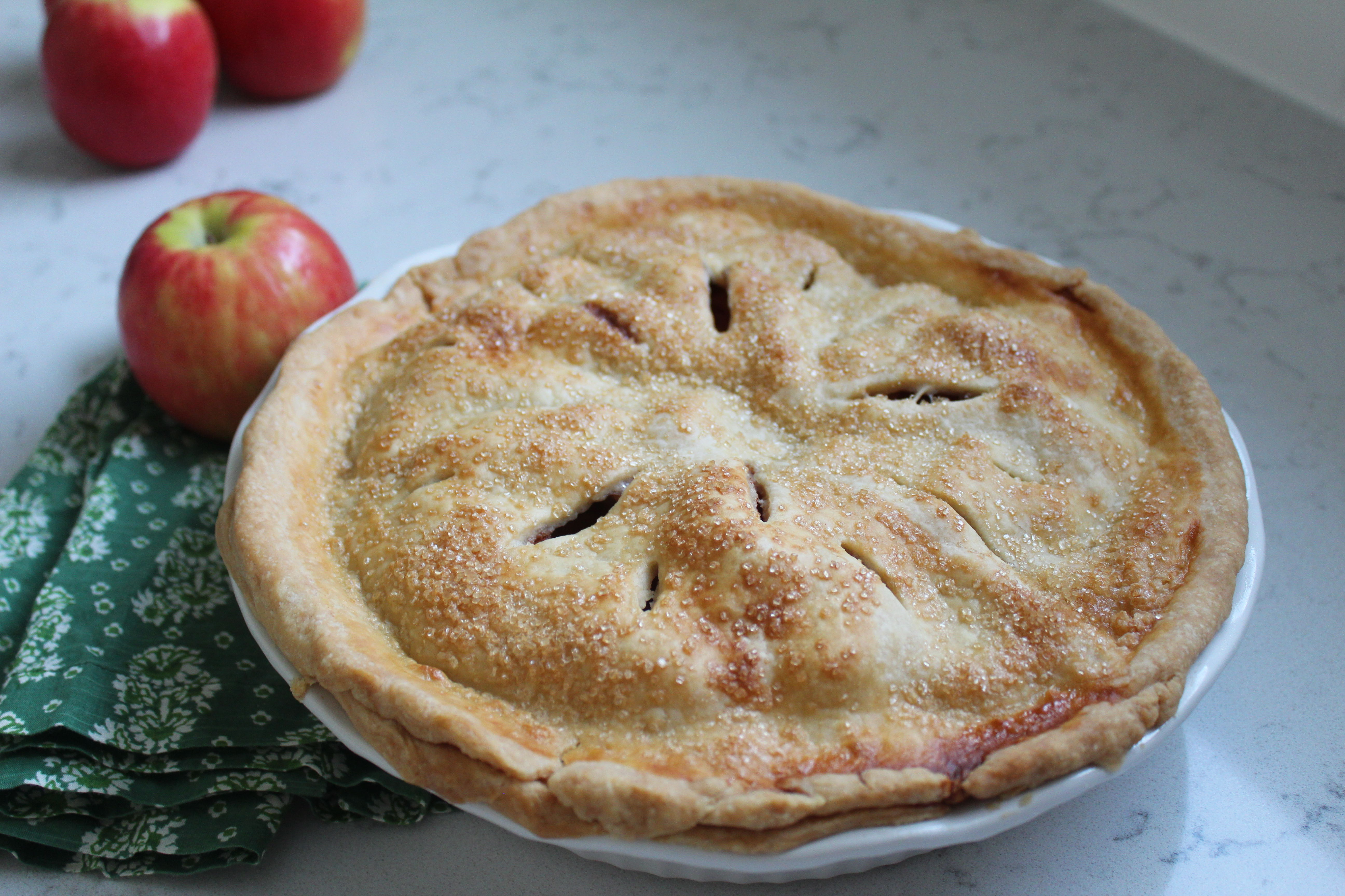 Mile-High Apple Pie sanzoe