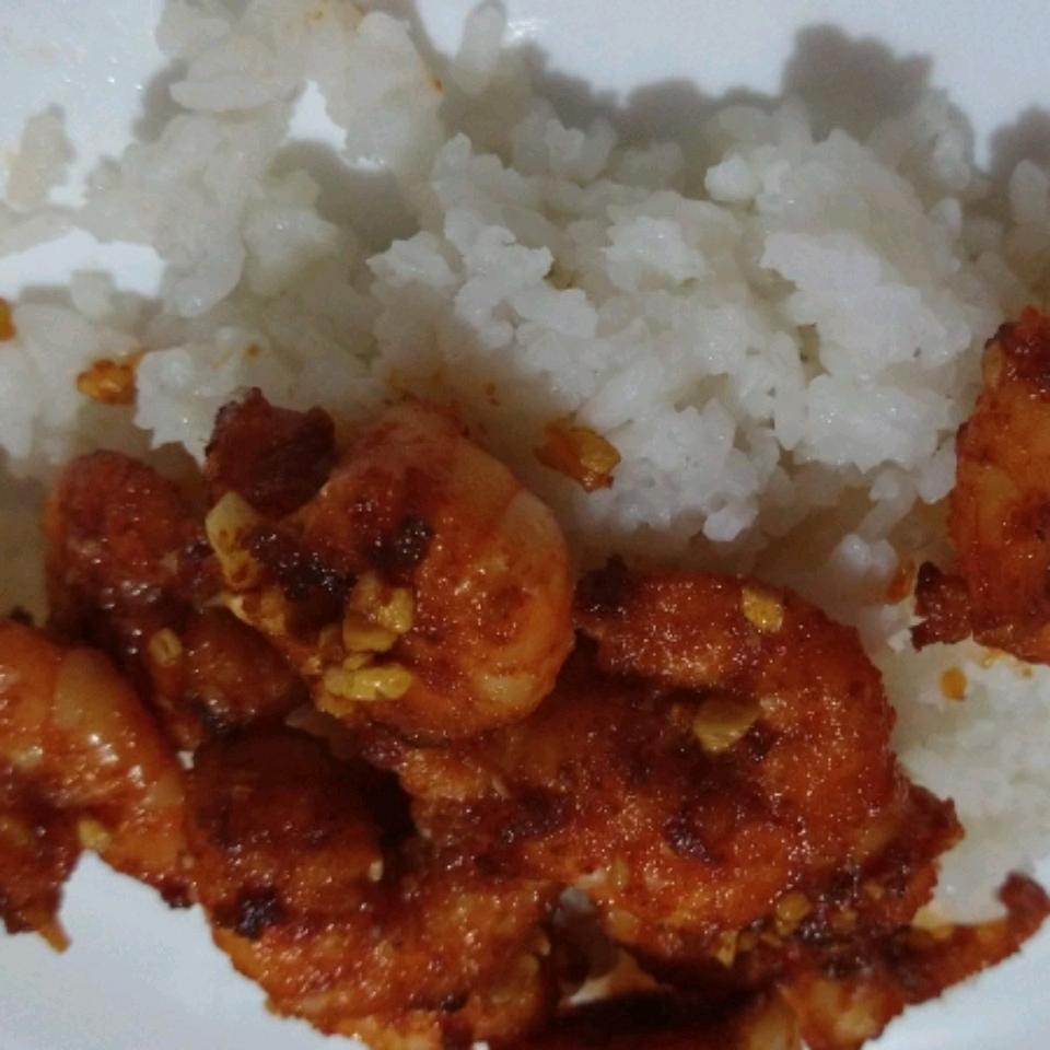 Hawaiian Garlic Shrimp Scampi Ramza Mondragon