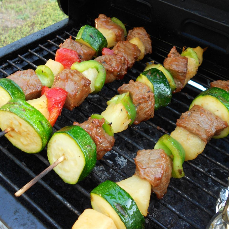 Beef Shish Kebabs for Freezer Cooking Holiday Baker