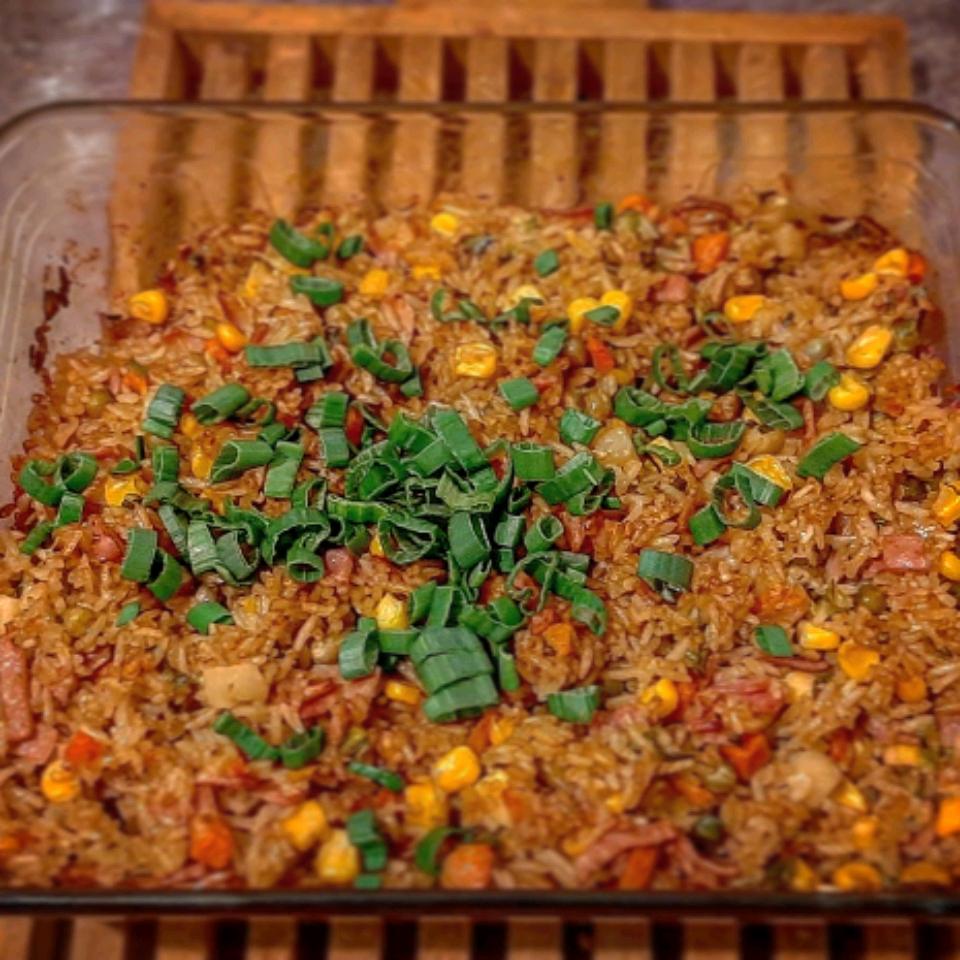 "Baked ""Fried"" Rice Eduardo Penna"