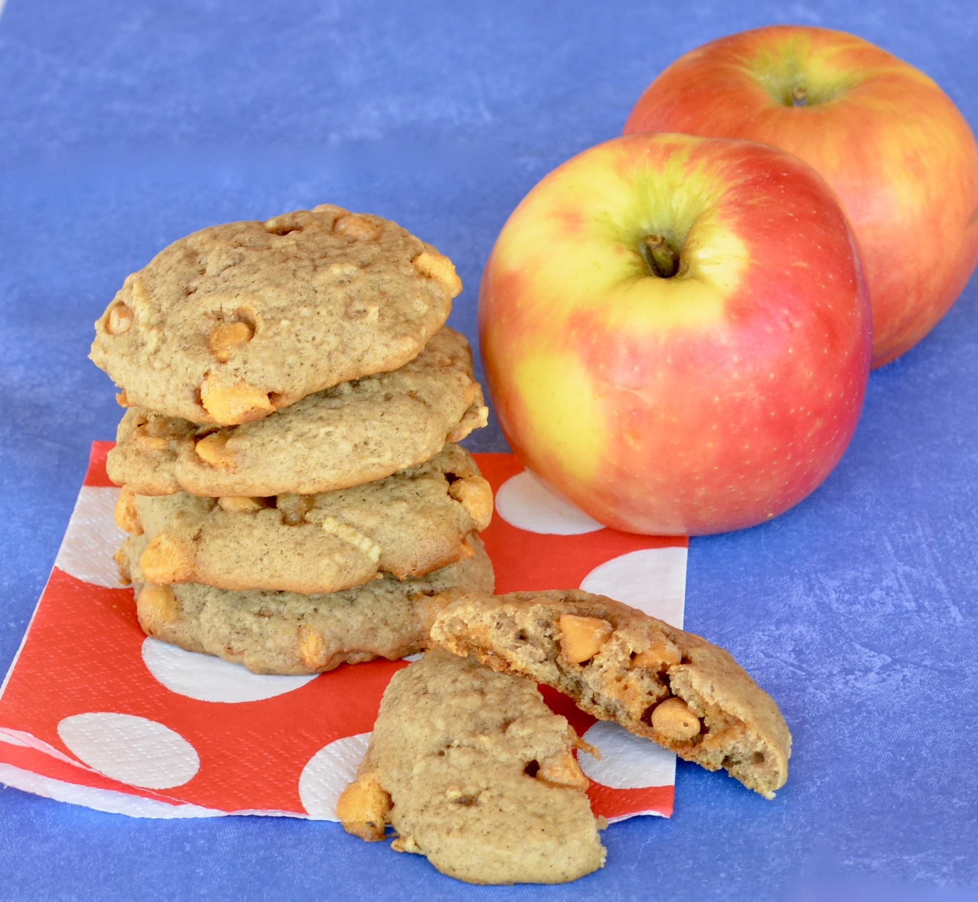 Butterscotch Apple Cookies