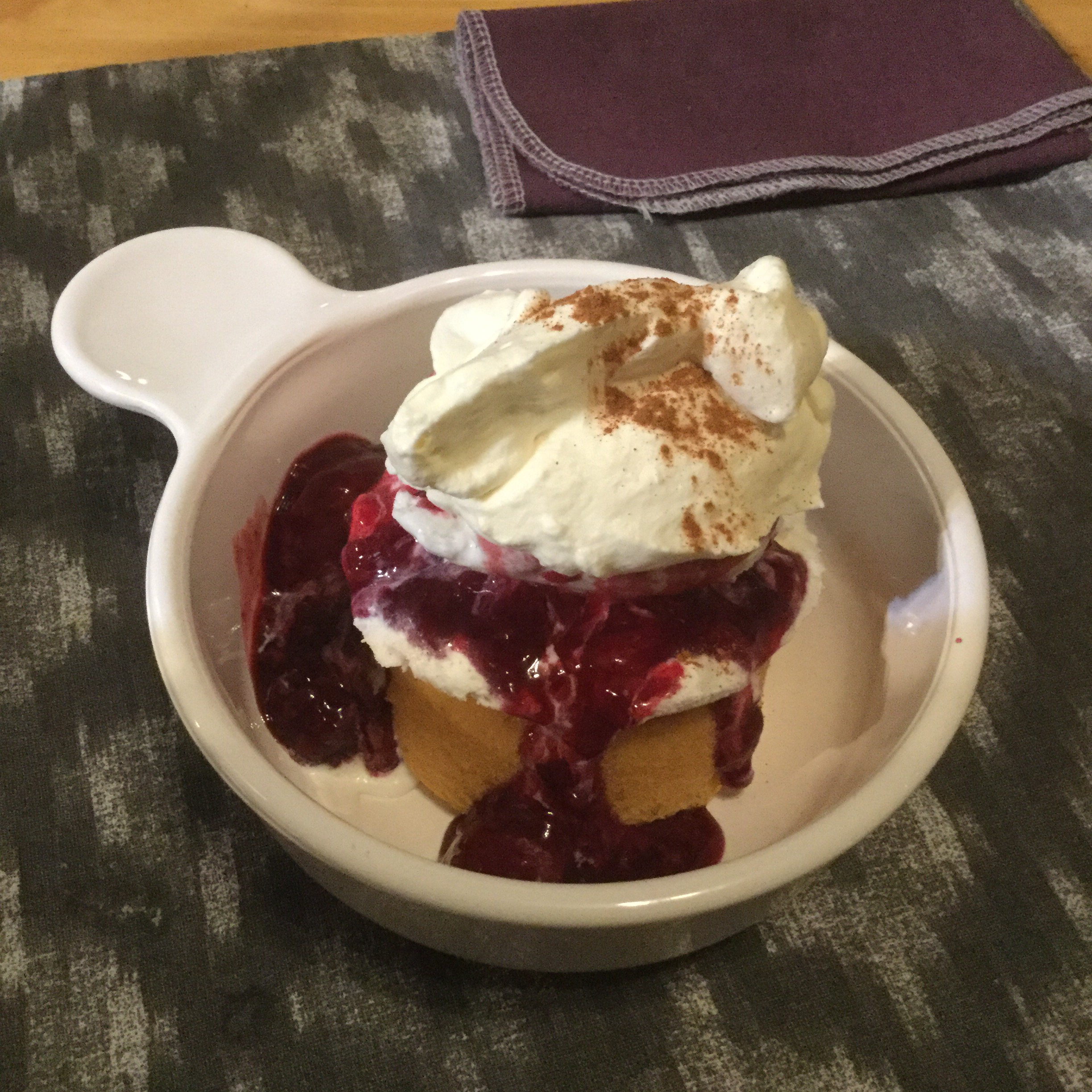 Warm Berry Compote LauraRhea