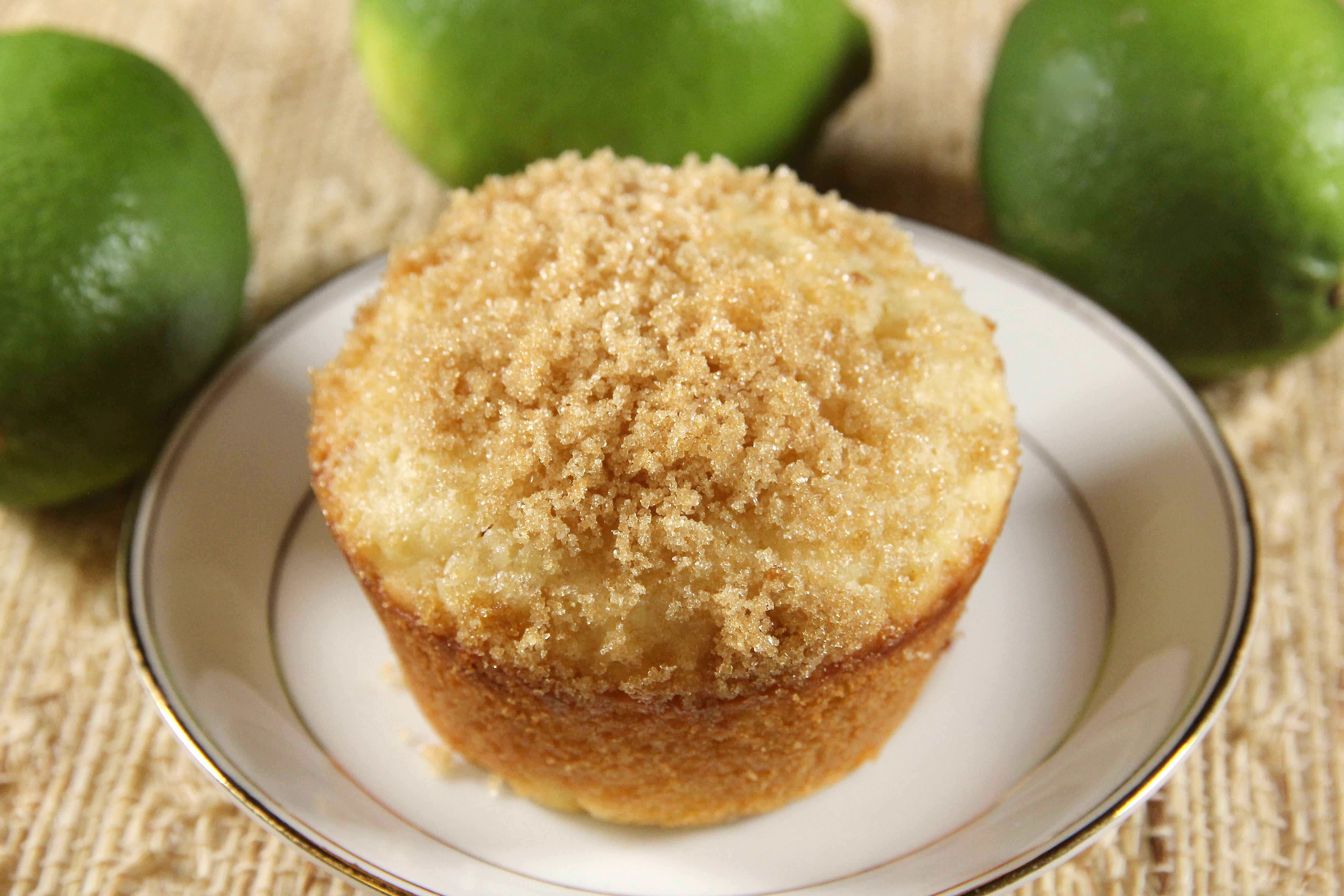 White Chocolate-Lime Muffins