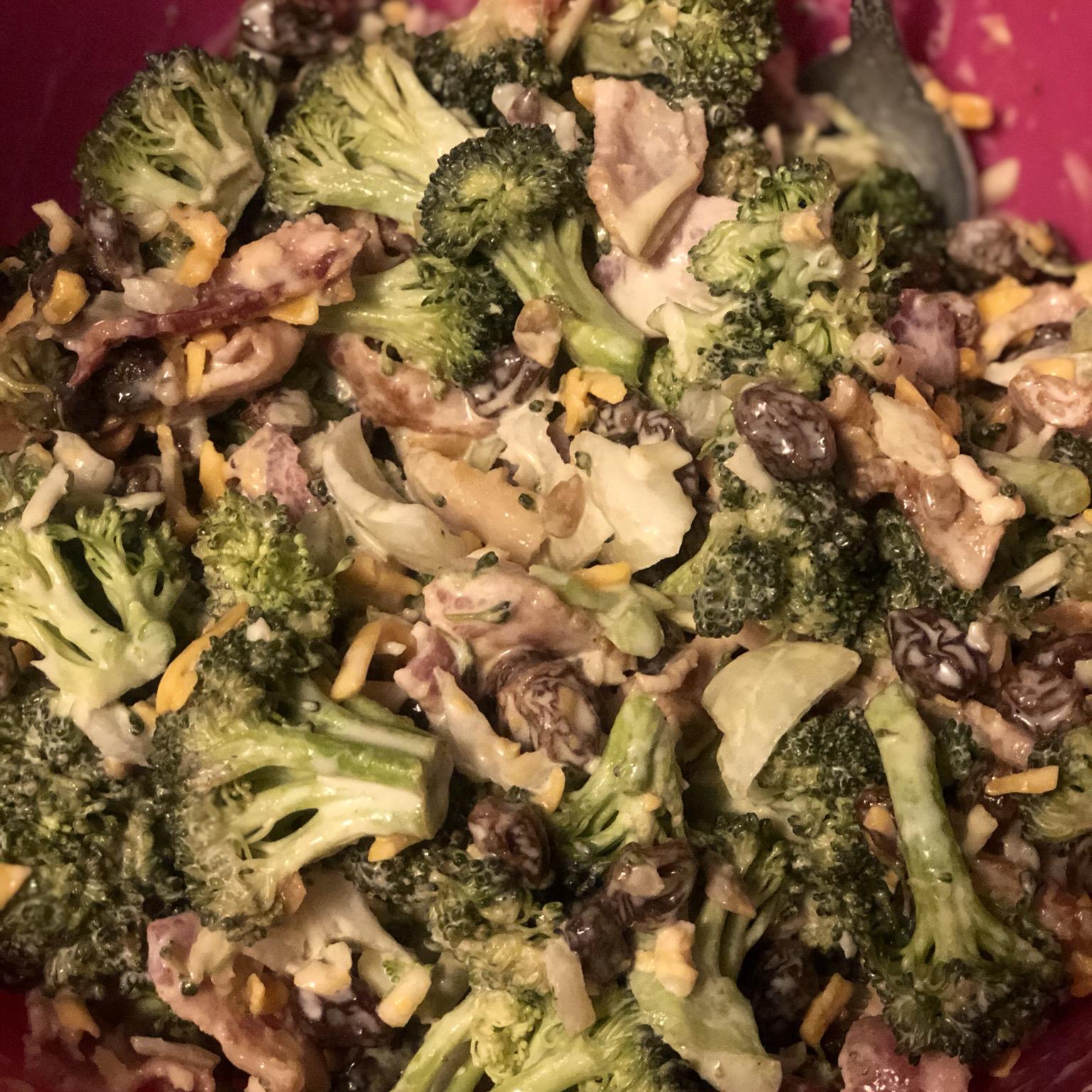 Fresh Broccoli Salad Melanie