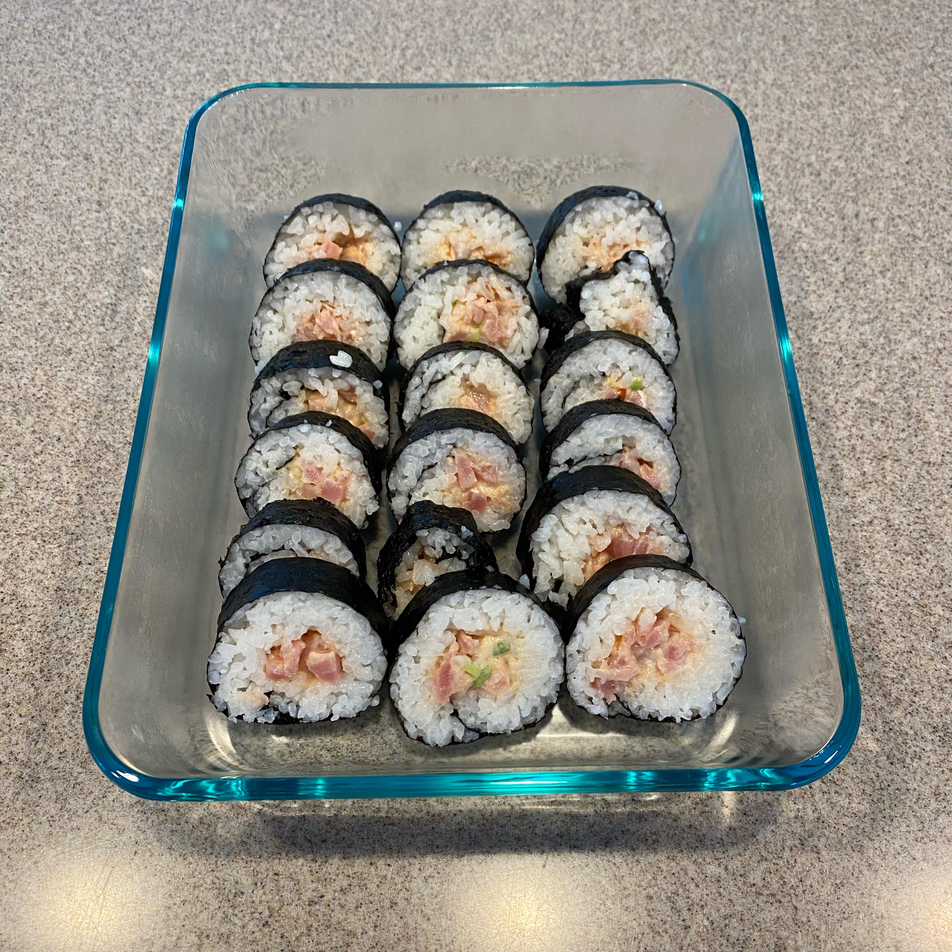 Spicy Tuna Rolls Simon