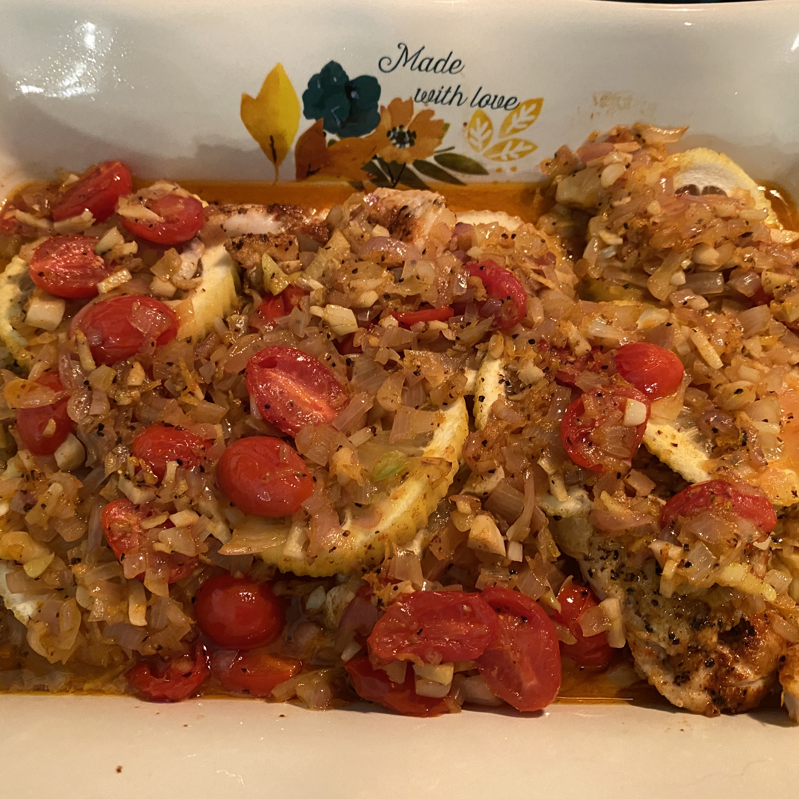 Red Snapper (Chinese-French Fusion) Rockin Robin