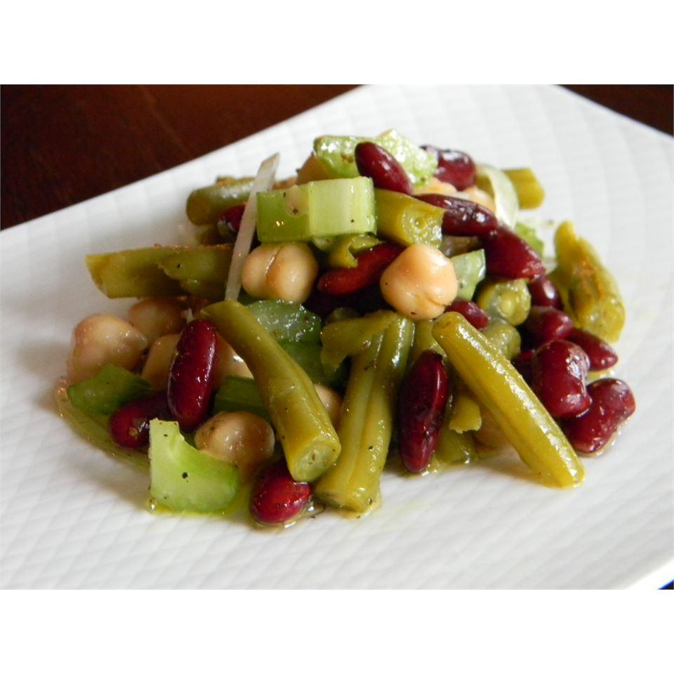 Three Bean Salad With Celery Baking Nana
