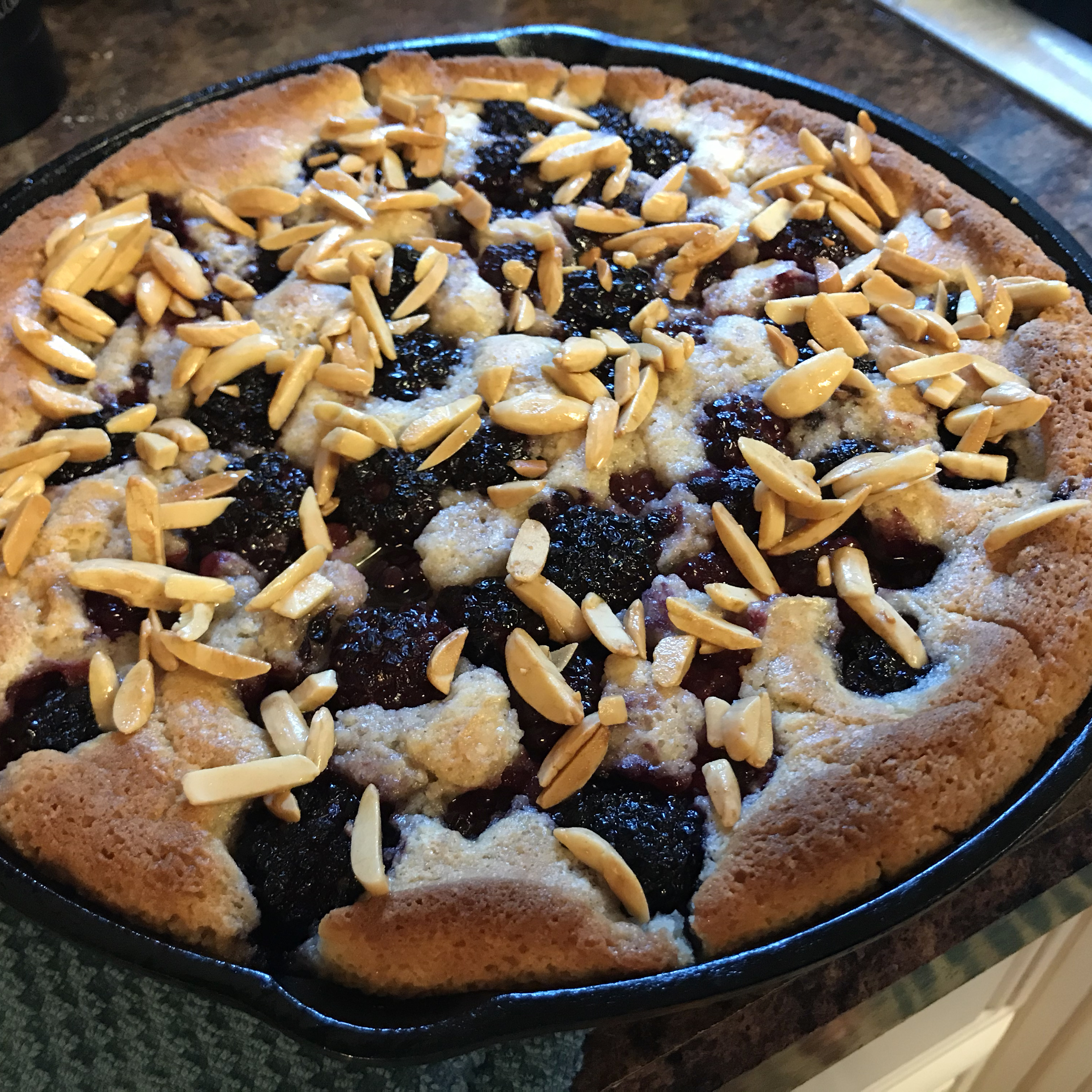 Chef John's Blackberry Buckle charger87