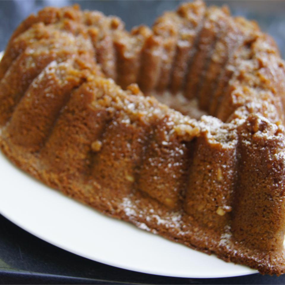Raspberry Nut Butter Cake TheBritishBaker